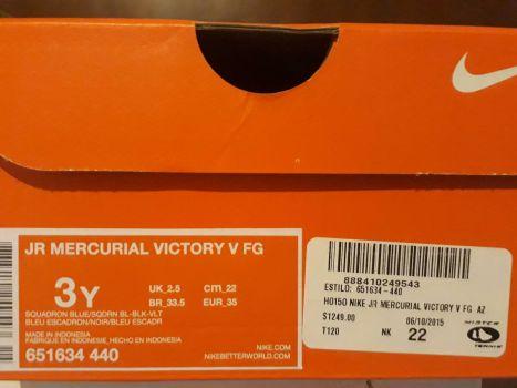 1d7b1ea174315 Nike Tacos Tenis Futbol Soccer Mercurial Victory - GoTrendier - 265218