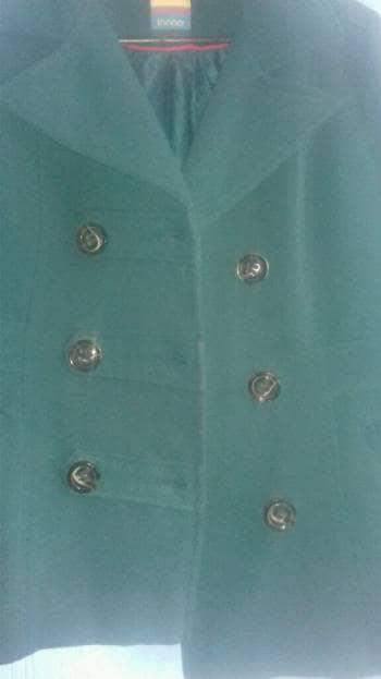 Abrigo verde bandera
