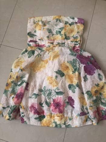 2x1 vestido flores S