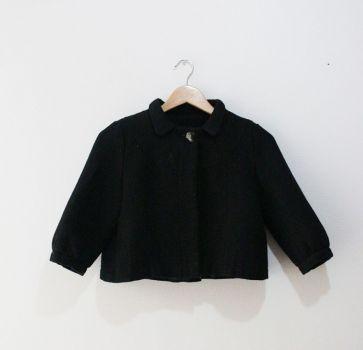 Saco negro corto