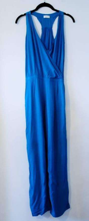Jumpsuit azul turquesa