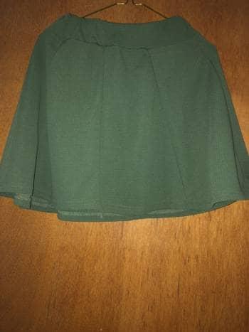 Falda verde militar