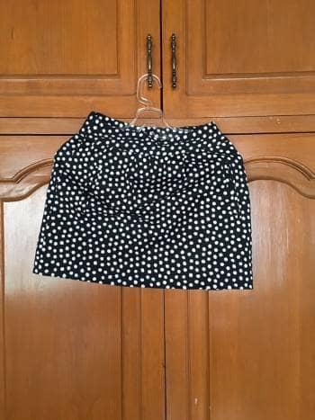 Falda corta a la cintura