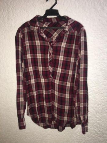 Camisa cuadriculada