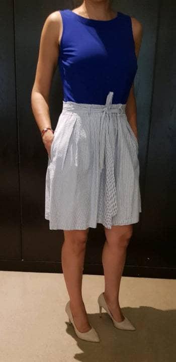 Vestido Tommy Hilfiger azul