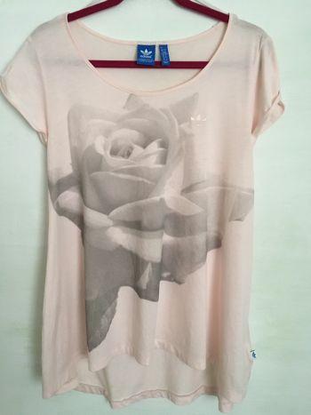Adidas Rose Print Tee