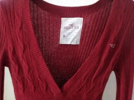 Blusa tela tipo sueter - GoTrendier - 640509 e1c259156cd1e