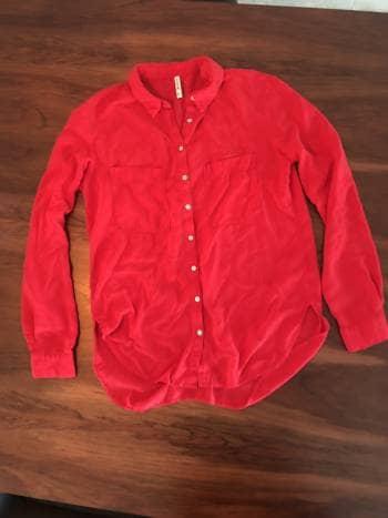 Hemrosa camisa roja