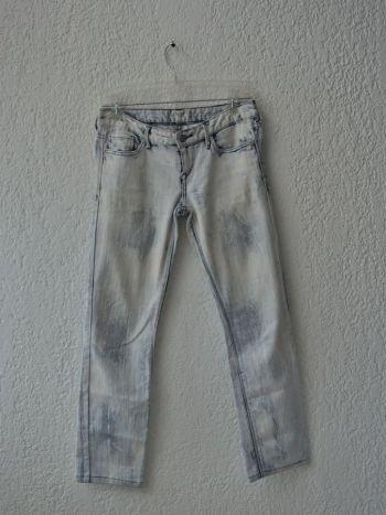 Jeans estampado azul