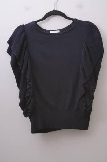 Blusa azul marino knit