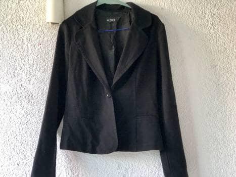 Saco de vestir negro