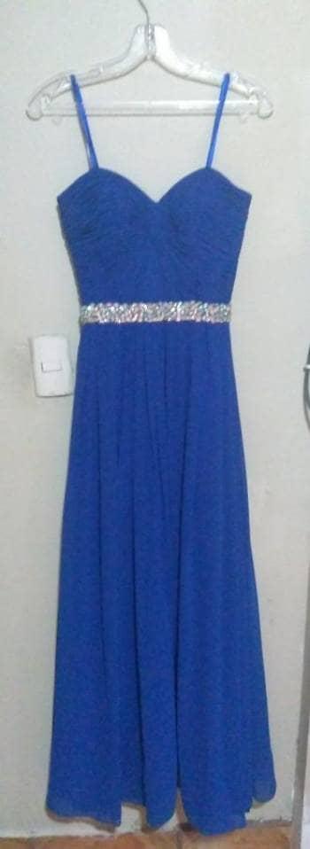 Vestidos de fiesta azul rey