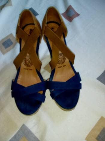 Zapatillas con plataforma forma