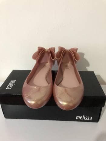 Flats Melissa con moño