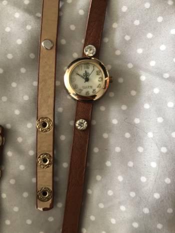 Reloj pulsera cafe
