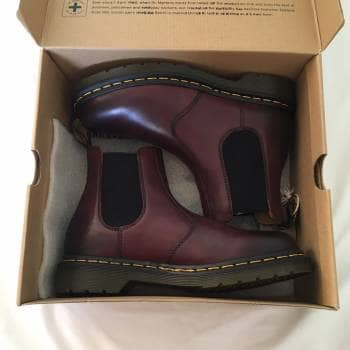 Dr.Martens Chelsea, Cherry Red Rouge