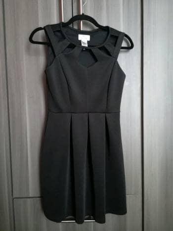 Vestido negro impecable